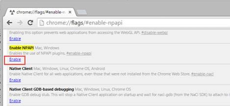 Silverlight no longer works in Chrome 42 | Neil McDonald's